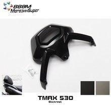 Para yamaha tmax530 tmax 530 2012 2013 2014 2015 2016 acessórios da motocicleta encosto passageiro ficar preto