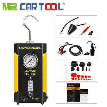 Mr Cartool SDT-206 Automobile Smoke Generator for Cars Leak Locator smoke machine car Leak Detector Auto Pipe Diagnostic Tool