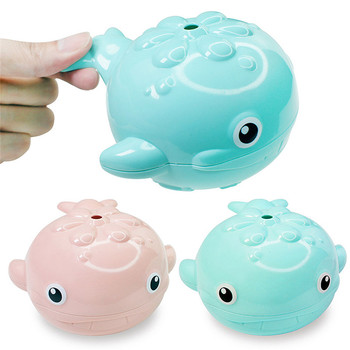 Baby Whale Shape Bathing Toy Kids Water Spray Bathroom Shower Swimming Water Toys Shower Swimming Baby Bathing water thermometer baby bathing frog shape temperature infants toddler shower shower waterthermometer kids product baby bath