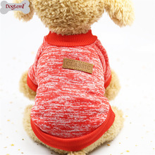 Christmas Dog Clothes For Small Soft Pet Sweater Clothing Winter Chihuahua Classic Outfit Ropa Perro