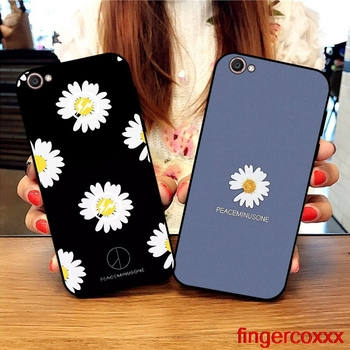 Coxxx Daisy 3 Soft TPU Case Cover For Vivo Y71 Y83 Y81 Y51 Y93 Y97 Y91 Y95 V11i Z3i Z3 X21UD Z5X X27 V15 S1 Pro image