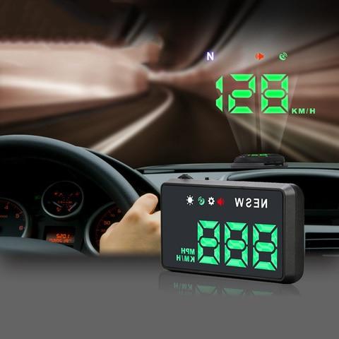 gps carro hud cabeca do carro hud up tela 3 5 polegada hd display cabeca