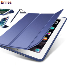 Trifold Smart Case For Xiaomi Mi Pad 4 8.0'' plus 10.1'' Cover PU Leather Stand for MiPad