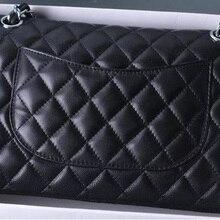Luxury Brand Lambskin Leather Bag Women Top Quality Design D