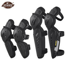 De la rodilla de protección + codo de Motocross rodilla almohadillas verano rodilleras de motocicleta Anti caída de protección para motocicleta