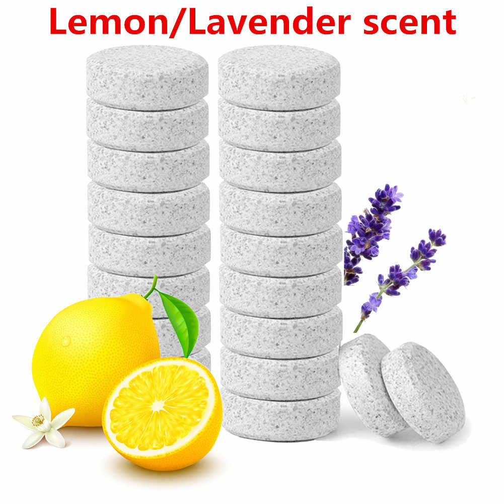 1PCS=4L Water Lavender / Lemon Multifunctional Effervescent Spray Cleaner Glass Home Cleaning Toilet Cleaner Chlorine Tablets