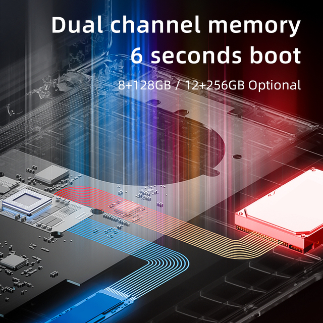 Dere R9 PRO 15.6 inch Laptop 12GB RAM 256GB ROM SSD Notebook Windows 10 pro Laptop Intel Celeron N5100 Computer PC Portable 3