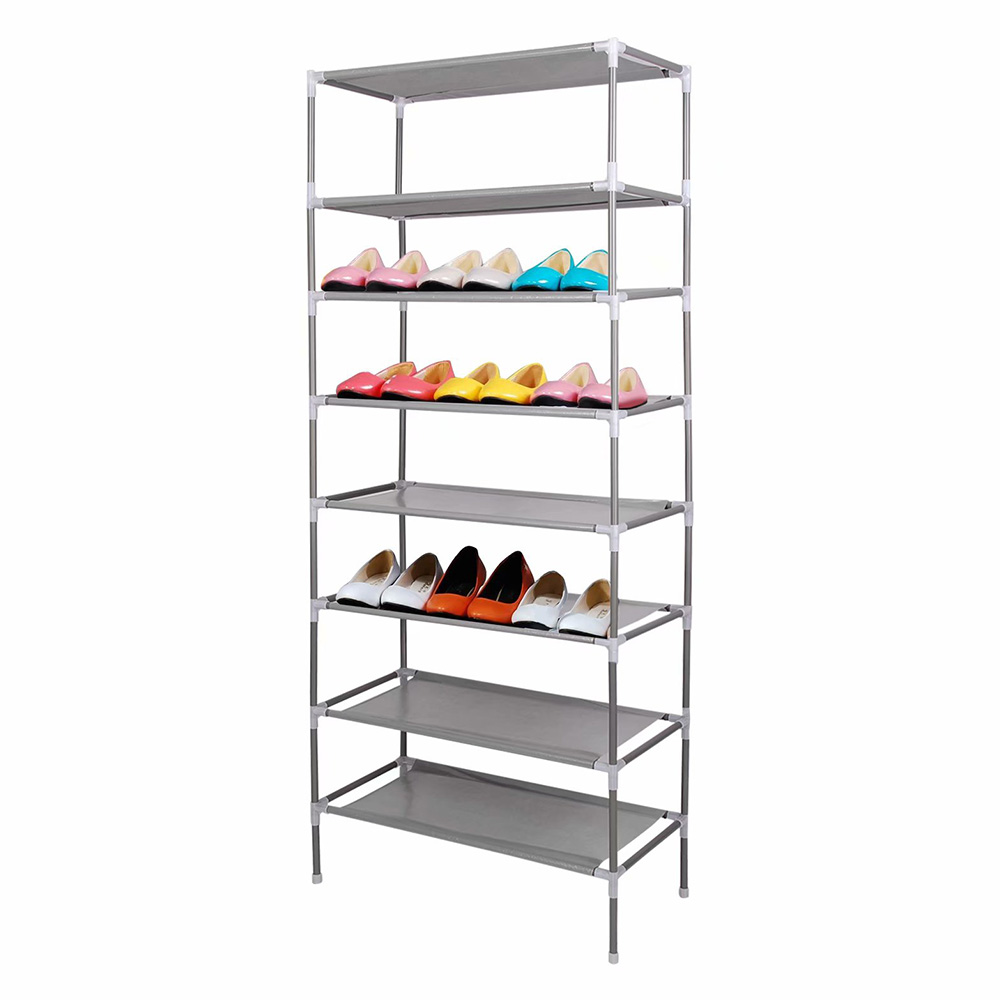 Non-Woven Fabric Dustproof Shoe Rack Storage Organizer Cover Cabinet Shelf Cabinet Assembled Multiple Layers Shoe Organizer