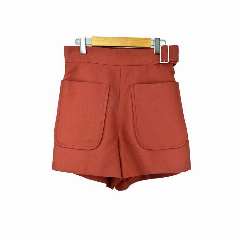 18 Summer Street Shoot Fan Pocket Slim Shorts Emos P6258e 2 Color 85120(China)