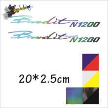 горячая распродажа мотоцикл углерода черный лазерный цвет светоотражающие наклейки, пригодный для бандита 1200 Н+1200-х