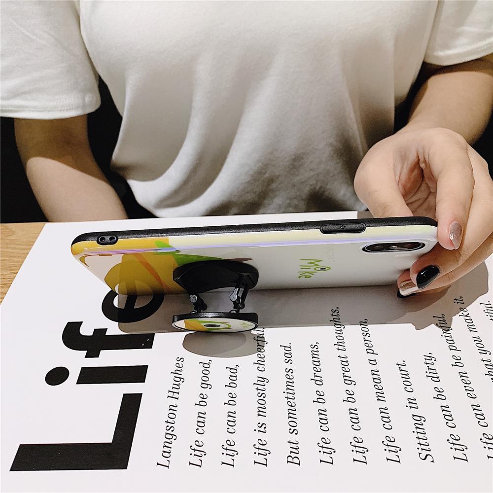 Image 4 - Забавный мультяшный глаз телефон в стиле монстра чехол для iPhone 8 7 6 6s plus X XS 11 Pro Max XR i7P ручка держатель Kickstand задняя крышка Coque-in Специальные чехлы from Мобильные телефоны и телекоммуникации on AliExpress