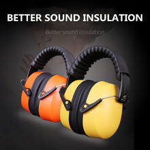 Noise proof earmuffs noise reduction sleep learning earmuffs mute industrial headphones soundproof shooting aircraft anti noise