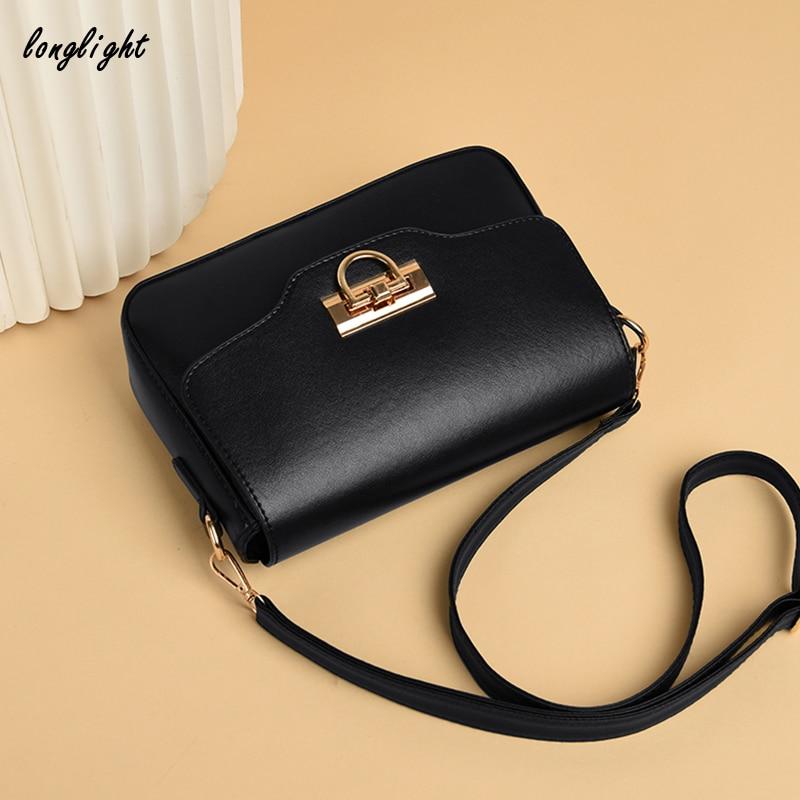 Longlight Woman Fashionable Ultralight Shoulderbag  Pu Luxury Leather Brand Handbag Crossbody Bags For Women 2020