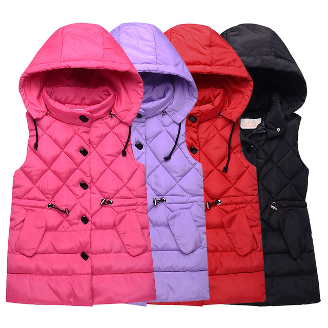 Vest for Kids Girl Autumn Winter Girls Casual Vest Jacket Baby Girls Boys Parkas Vest Coats Children Clothes Jacket Kids Vests