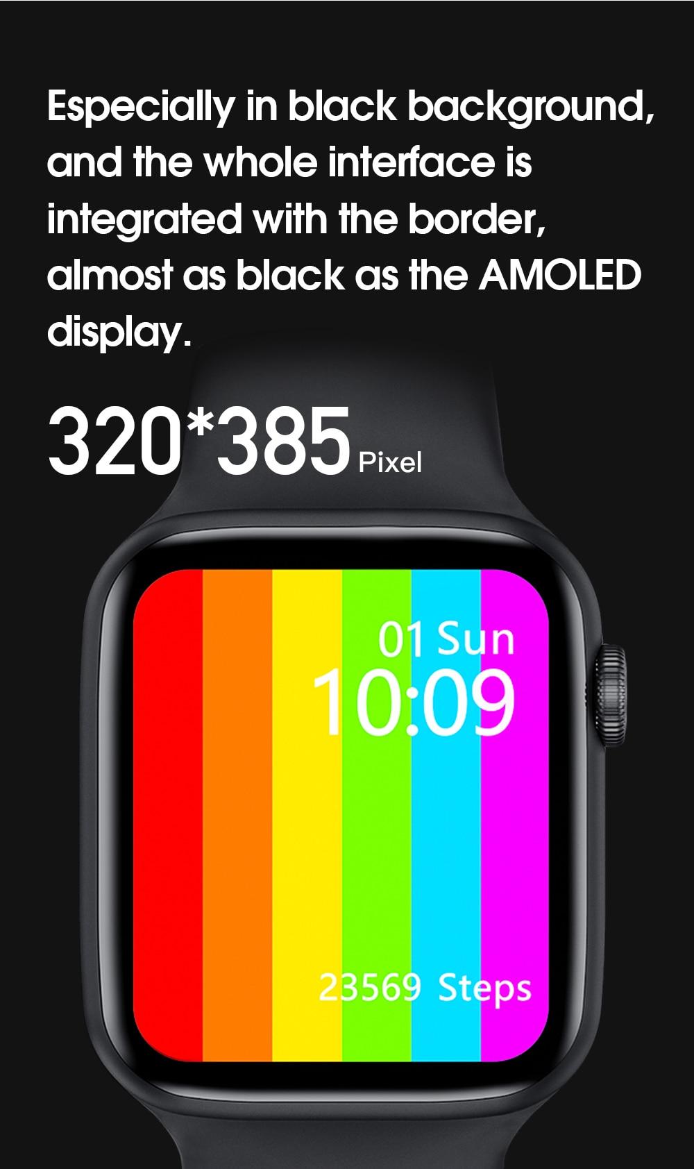 H5e56612f464345c4b1b826f58dec939aZ IWO W46 Better Than W26 Smartwatch IWO 12 Pro 13 Smart Watch Men Women DIY Face Wireless Charger Body Temperature Smartwatch