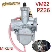 Mikuni VM22 PZ26 26mm Carburetor Performance Carb For 110cc 125cc 140cc Pit Dirt Bike XR50 CRF70 Carburetor Accessories Parts