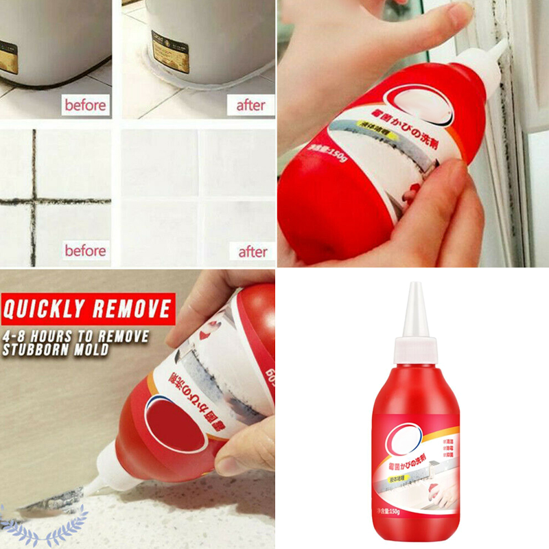 Mold Remover Gel Caulk Gel Anti-Odor For Home Kitchen Bathroom Wall Tiles Wood SNO88