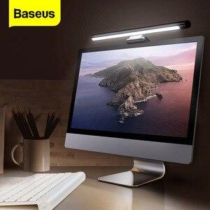 Светодиодный настольный светильник Baseus для ПК, ноутбука, экрана, бара, подвесной светильник, настольная лампа для офиса, учебы, светильник д...