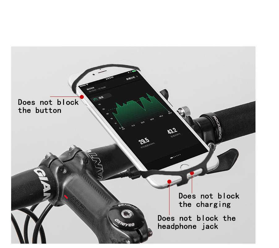 ผู้ถือโทรศัพท์มือถือจักรยานรถจักรยานยนต์จักรยาน Handlebar ขายึดจักรยาน Mount โทรศัพท์สำหรับ iPhone Xiaomi อุปกรณ์ GPS