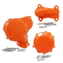 Clutch Guard Water Pump Cover Ignition Protector For KTM SX XC XCW XC-W TPI Six Days For Husqvarna TE TC TX 250 300 250i 300i(China)