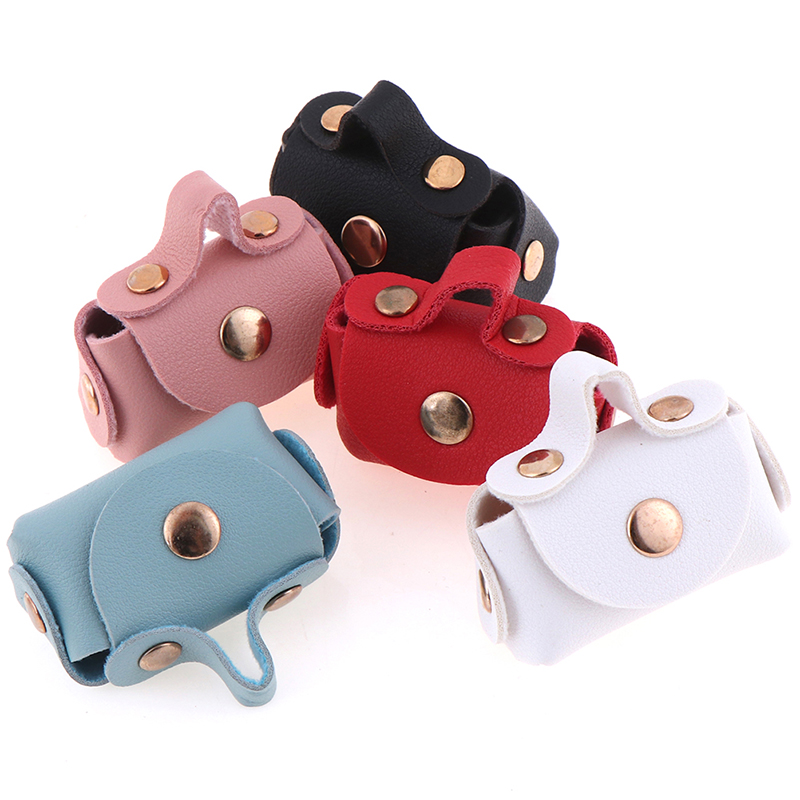 1pc Dollhouse Miniature Bag Doll Bag Fashion Shopping Handbag For 1/6 ,1/12 Doll Clothes Bag Accessories