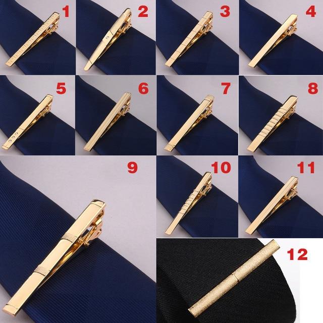 Зажим для галстука из металлического сплава, зажим для галстука, для свадьбы, деловой стиль 3