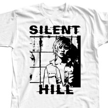 Silent Hill  Horror Movie, Christophe Gans T SHIRT DTG WHITE All Sizes S-3XL Youth Round Collar Customized T-Shirts Top Tee