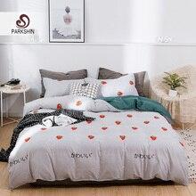 Parkshin Strawberry Bedding Set Blue Pastel Underwear Bed Linen For Adult King Single Kids Cartoon Nordic 150 Bedspread