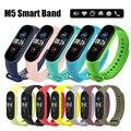 Смарт-браслет M5 с фитнес-трекером, пульсометром, тонометром, Bluetooth