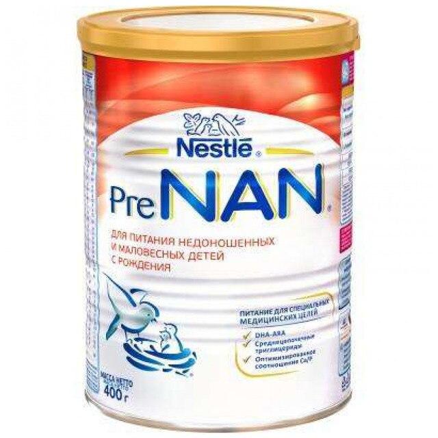 Молочная смесь NAN Pre с рождения 400 гр