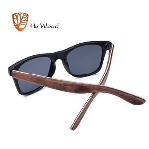 Image 5 - Hu wood 2018 디자인 남자/여자 클래식 레트로 리벳 편광 선글라스 100% 자외선 차단 대나무 태양 안경 grs8004