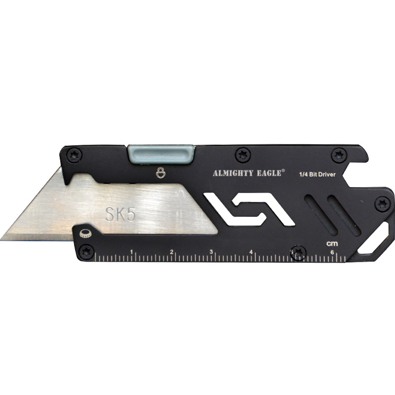 Combination Tool Knives Multi-function Outdoor EDC Mini Paper Utility Knife Key Knife
