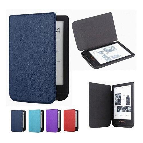 Ультратонкий кожаный чехол Gligle для Pocketbook Touch lux 4 627 HD3 632 Basic2 616 Ereader Защитный Чехол + пленка для экрана