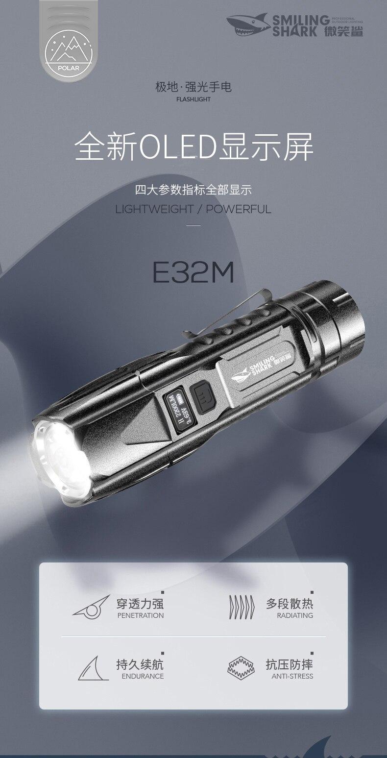 Mini lanterna de acampamento recarregável, poderosa iluminação