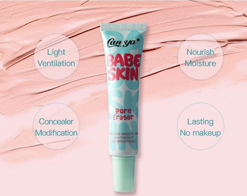25ml profesjonalny baza do makijażu fundacja Miss Rose nawilżający kontrola oleju twarzy podkład podkład makijaż krem krem do opalania TSLM2 2
