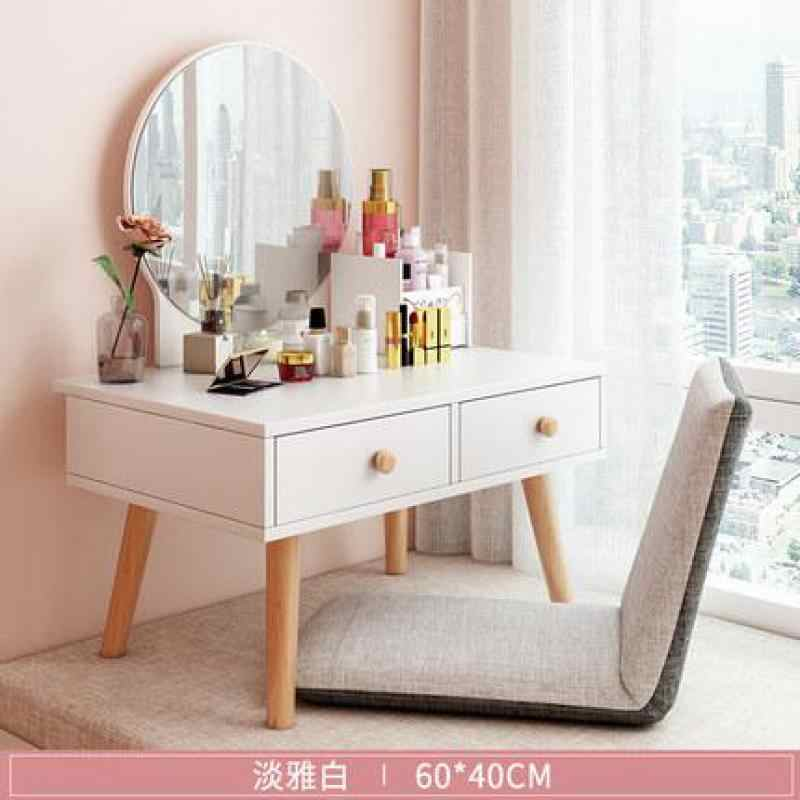 Bay Window Dresser Nordic Small Simple Bedroom Net Red Mini Makeup Table Ins Multifunctional Dressing Table Aliexpress