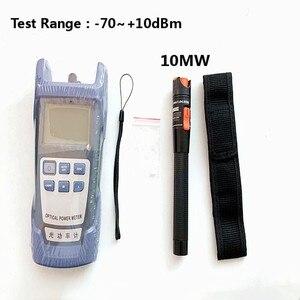 Image 2 - 2 In1 FTTH Công Suất Quang 70 + 10dBm Và 30 KM 30 MW Thị Giác Lỗi Định Vị Sợi quang Bút Thử Điện