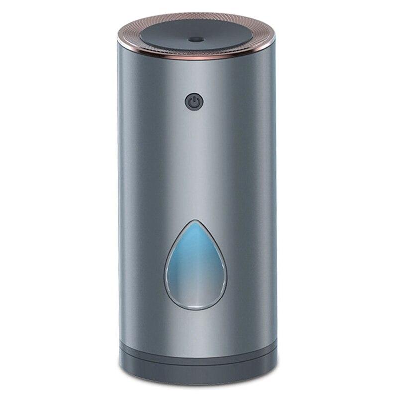 Car USB Mini Aroma Diffuser, 260Ml Large Capacity Humidifier, Aroma Diffuser with Indicator Light
