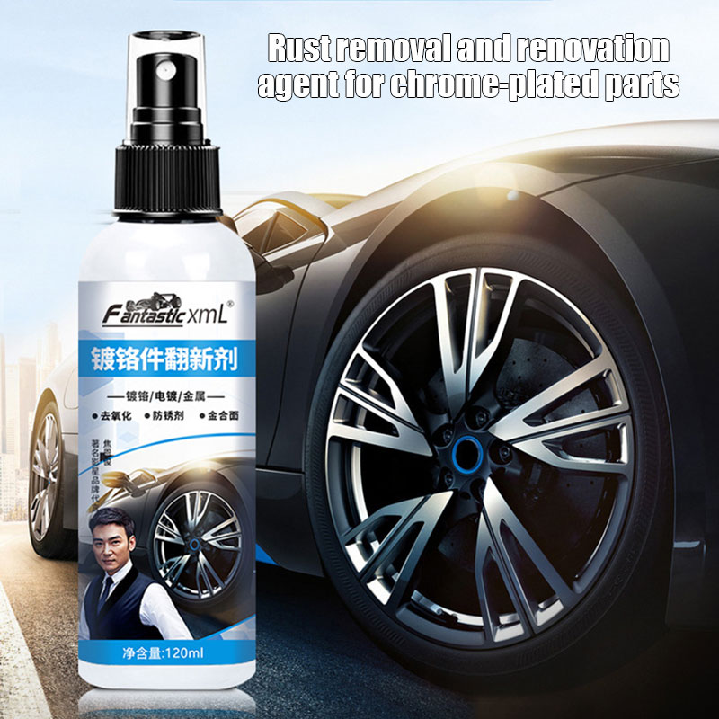 2020 Fallout Iron Out Rust Stain Remover Spray for Pro Car Detailing Deoxidized Spray CSL88