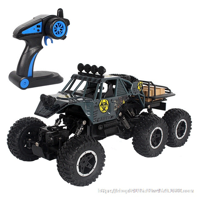 Big size 1:10 6WD RC Car 2.4G Remote Control RC Car Toys Buggy 2020 High speed Truck Off-Road Climbing Vehicle toy