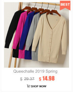 Queechalle 25 Color Autumn Knitted Cardigan Coat Women's V Neck Long Sleeve Casual Sweater Coats Female Clothes S- 4XL Plus Size 21