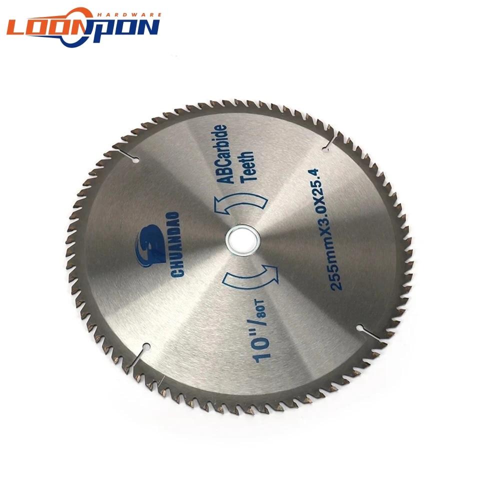Carbide Wood Circular Saw Blade 4 inch 30//40T Teeth Cutting Disc For Woodworking
