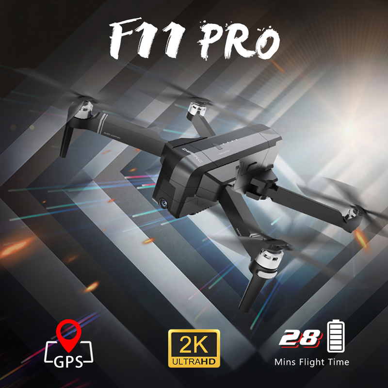 Global Drone Professional GPS Brushless Dron 2K/1080P Camera Quadrocopter Auto Follow Drones with Camera HD VS FIMI X8 F11 PRO Квадрокоптер