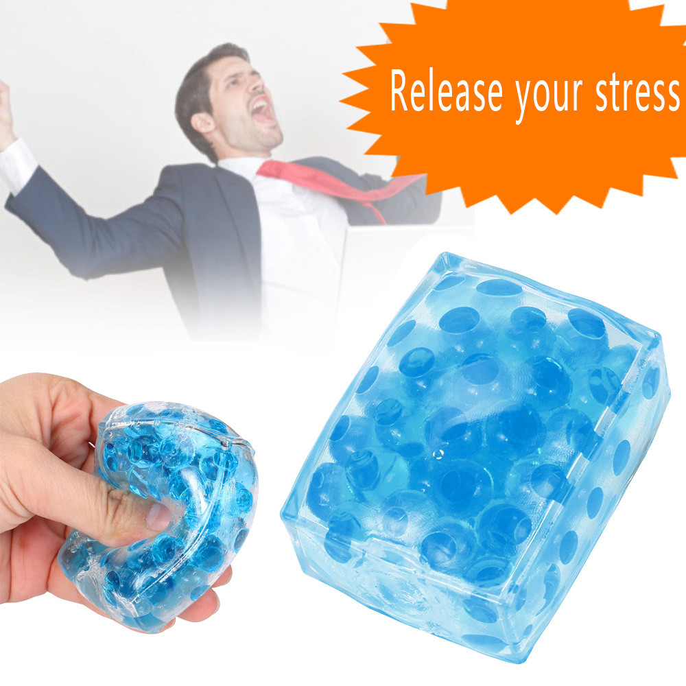 Squishy Toy Stress-Ball Vent Decompression Rebound Sensory Fidget Squeezable-Stress Bead