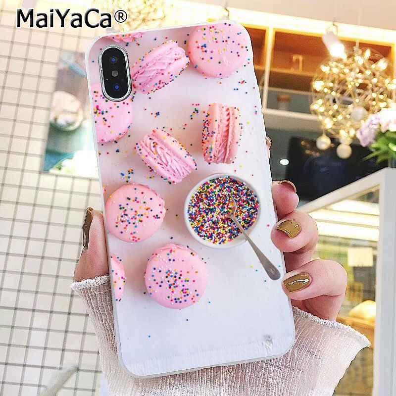 Maiyaca Vàng Hồng Macaron Tặng Ốp Lưng Điện Thoại Iphone 11 Pro 11Pro Max 6 6S 6 Plus 7 7 Plus 8 8Plus X XS Max 5 5s XR