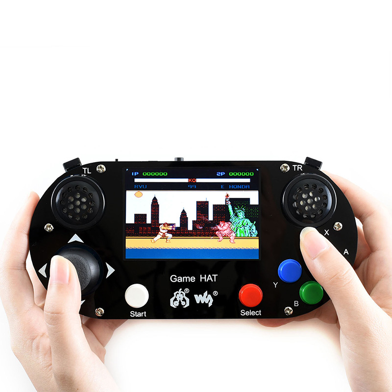 Raspberry Pi 3B+/ 3B / Zero  RetroPie Game HAT Console Gamepad With 60FPS 3.5 Inch IPS Screen 480 X 320 Display LCD