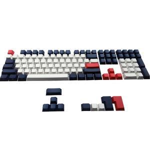 Image 2 - Conjunto de teclas estampadas laterais pbt, conjunto de teclado mecânico ansi iso cherry mx para 60%/tkl 87/104/108 mx fit anne ikbc akko x ducky
