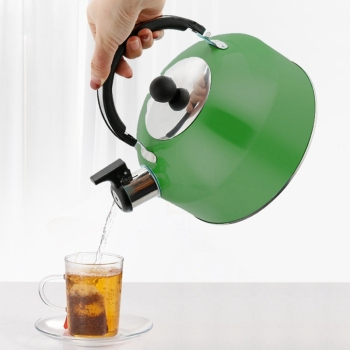 3L gwizdek czajnik wodny do kuchenki gazowej Bouilloire gwizdek ze stali nierdzewnej czajnik do herbaty butelka wody czajnik kuchenka czajnik do herbaty woda tanie i dobre opinie LISM CN (pochodzenie) STAINLESS STEEL Ekologiczne Na stanie 0030G-X