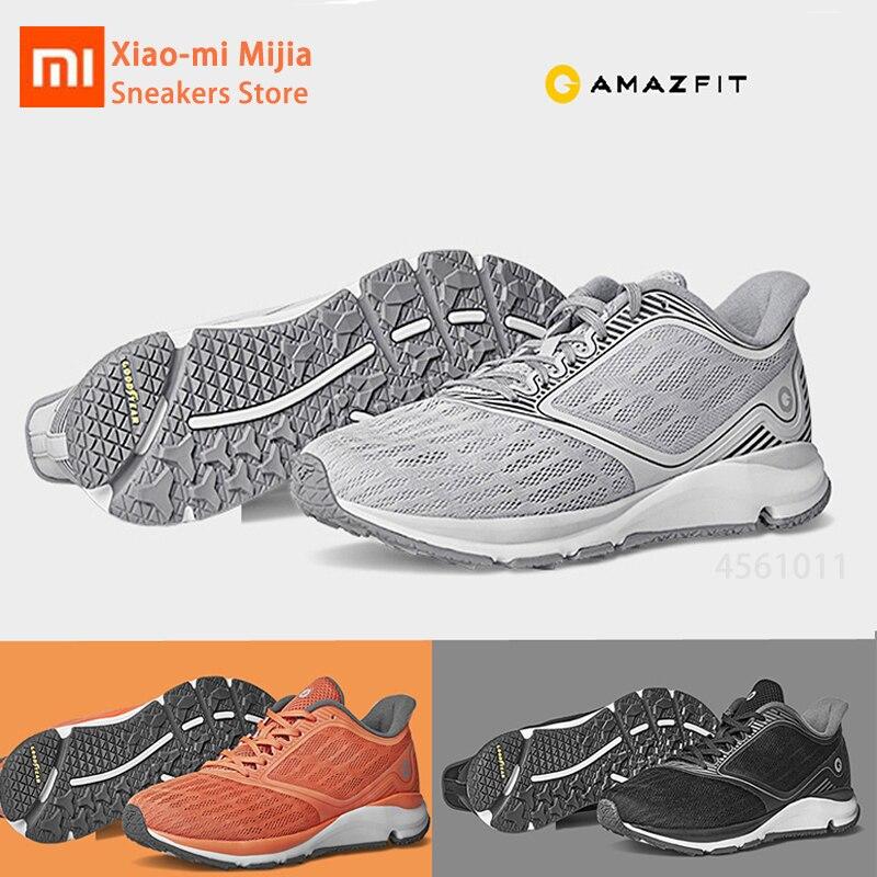 Xiaomi Mijia Amazfit antilope chaussures de Sport en plein air baskets de course en caoutchouc semelle Support Smart Chip chaussures intelligentes pour hommes femmes