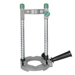 Wiertarka ręczna do rur elektrycznych uchwyt prowadzący do wiercenia stojak z regulowanym kątem zdejmowany uchwyt DIY narzędzie do drewna